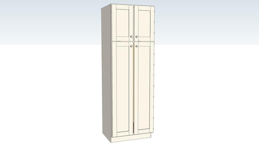 Utility Cabinet Double Door - 24D