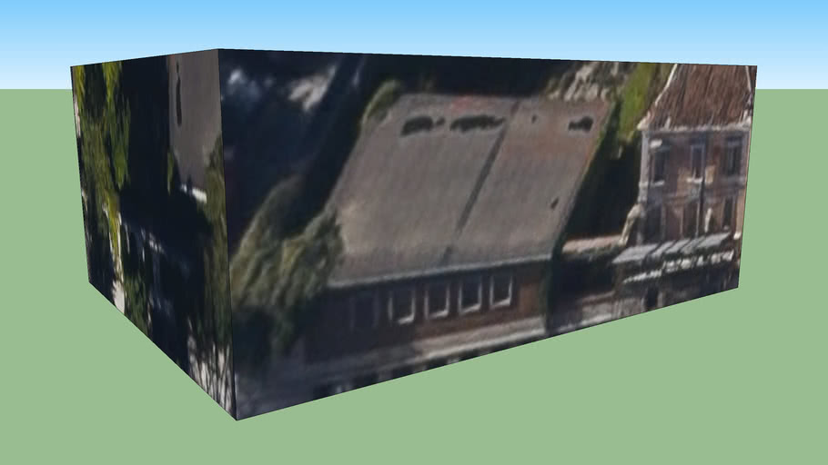 modello edificio La Villa