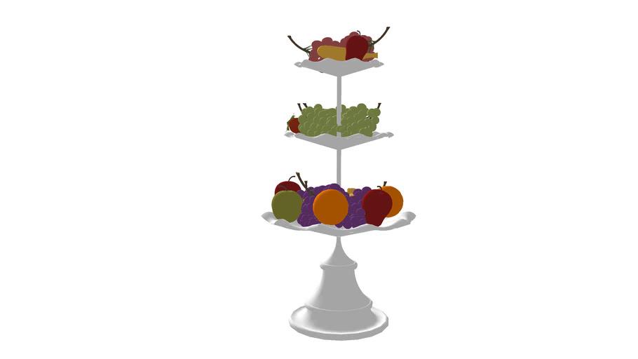 Fruit etagere (bowl)