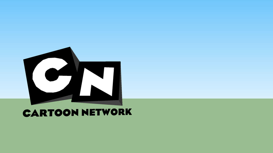 Cartoon Network Logo 2004 2010 Nood2 Era 3d Warehouse