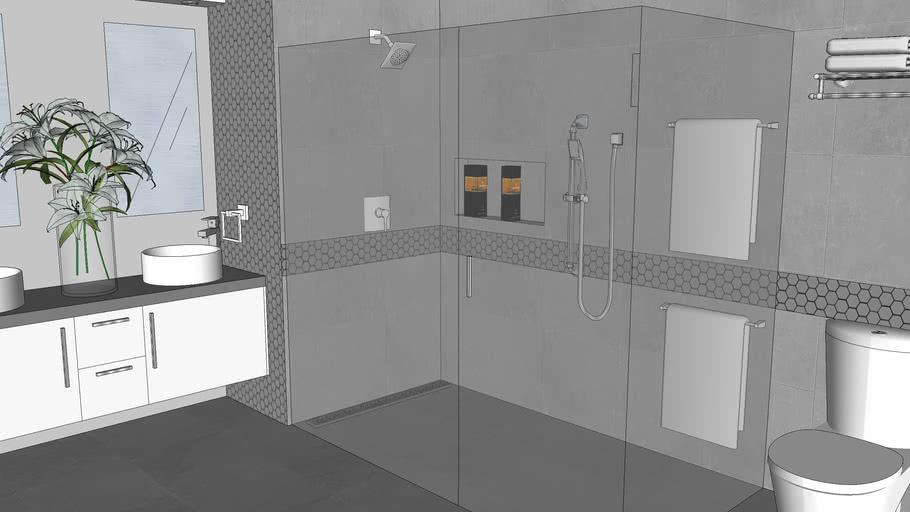 8x10 Bathroom Irma Warehouse