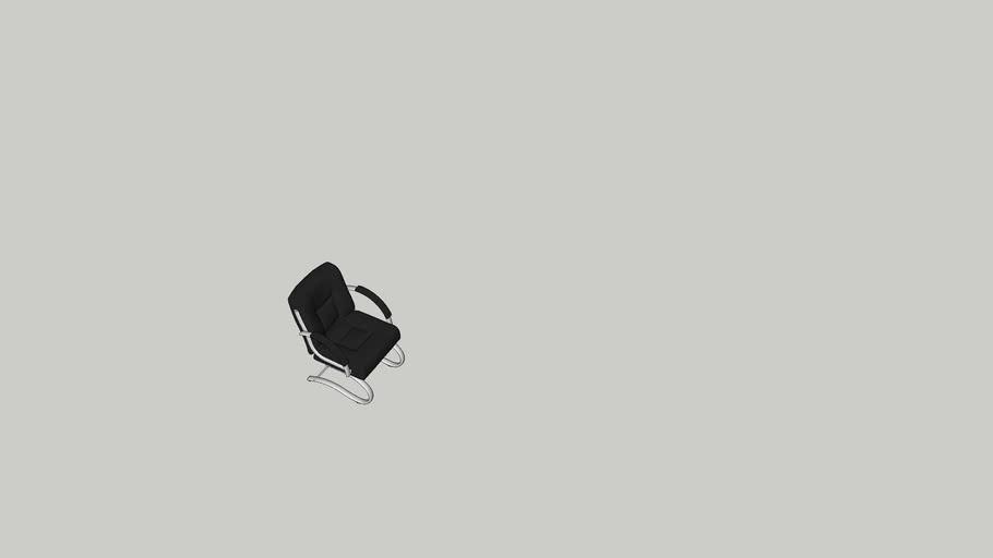 Cadeira executiva base fixa2031