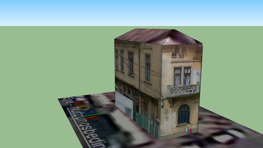 Building on Cuza Voda street, Bucharest