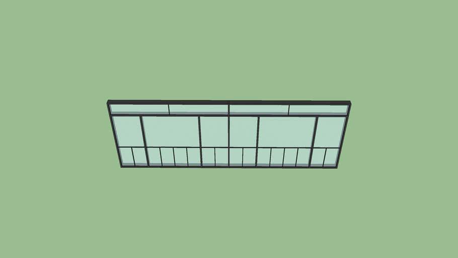 Commercial Door Window