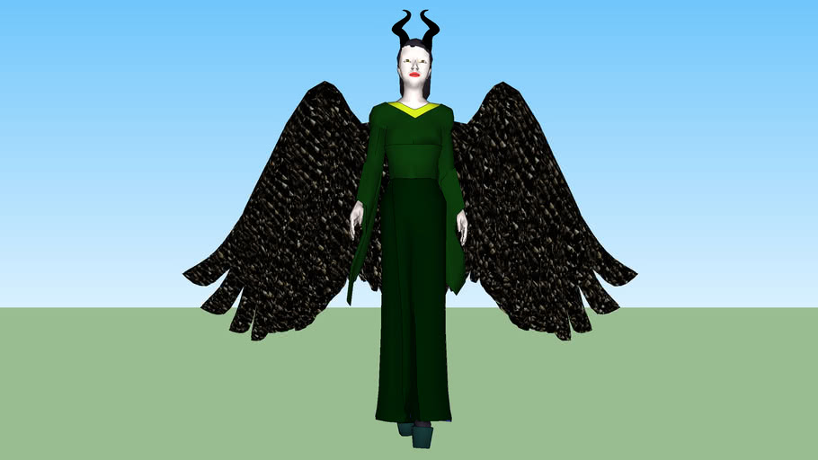 Maleficent Reunited With Her Wings