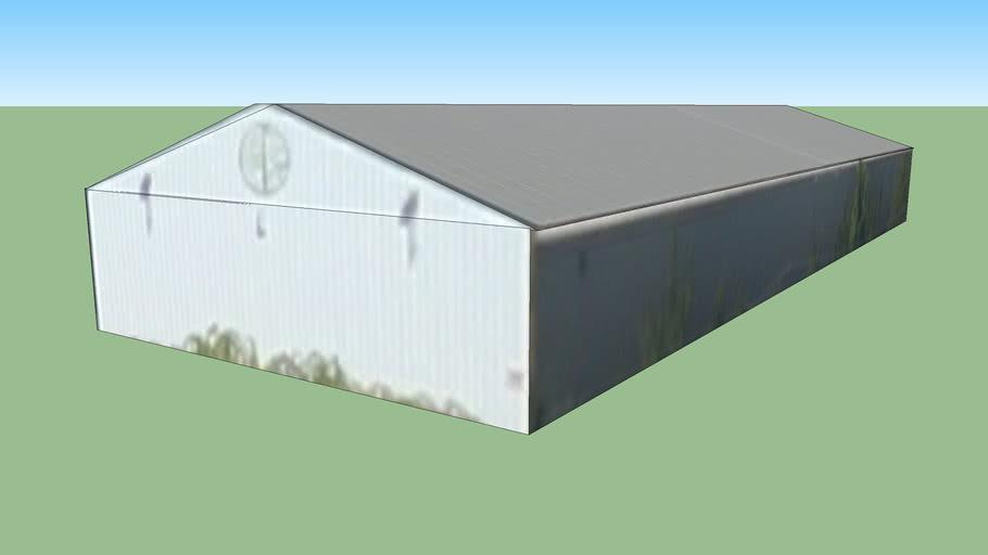 波特兰俄勒冈州美国的建筑模型