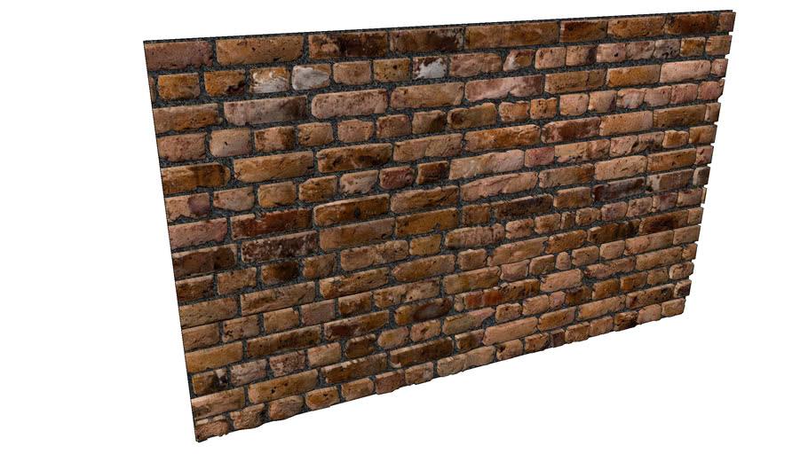 Panel Bricks Wall 3D - Panel Tuğla Duvar 3B