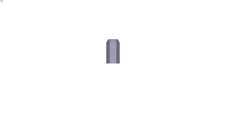 Female pillar support manufactured M16 x 50 mm