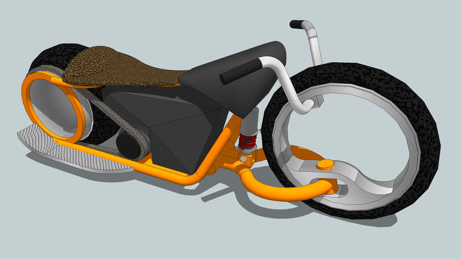 Hubless Forkless electric bike concept