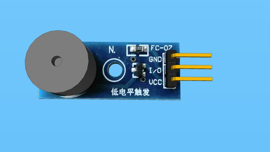 Active Buzzer Alarm Module 3.3-5V