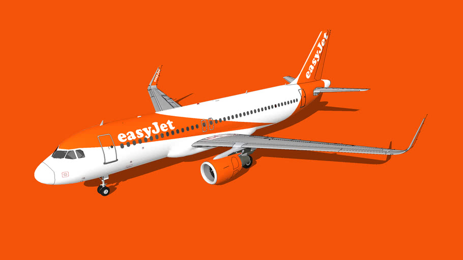 EasyJet Airbus A320-214(WL)