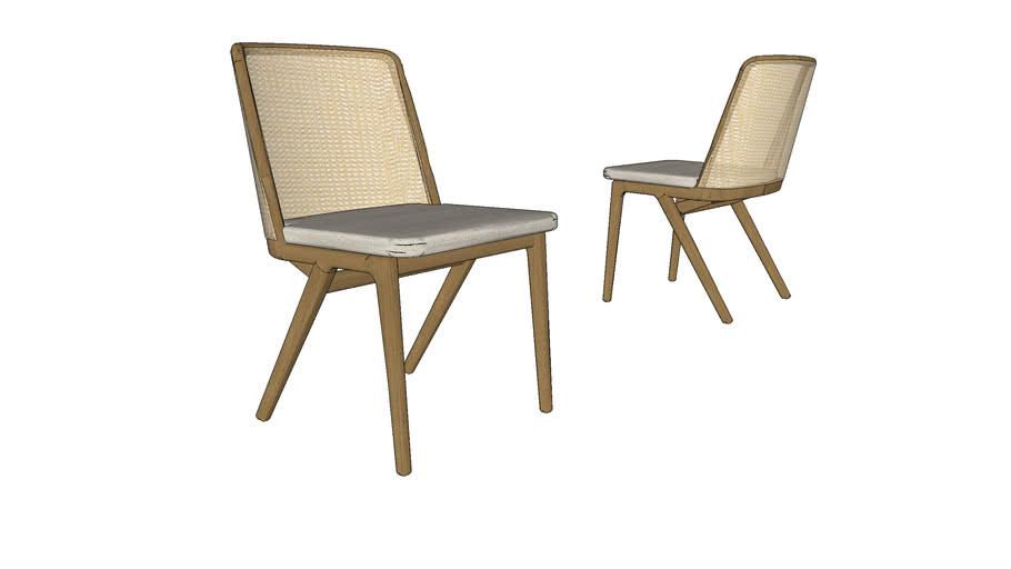 Cadeira Estrela sem braço