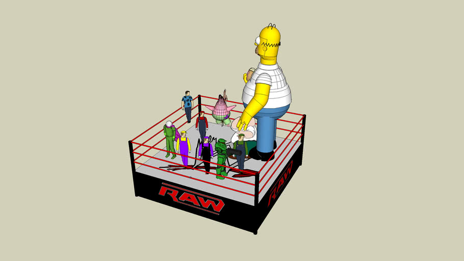 Raw Title Match