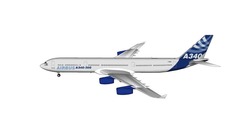 avion civil A.340-300 Airbus
