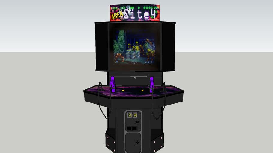 Area 51: Site 4 arcade game (showcase cabinet)