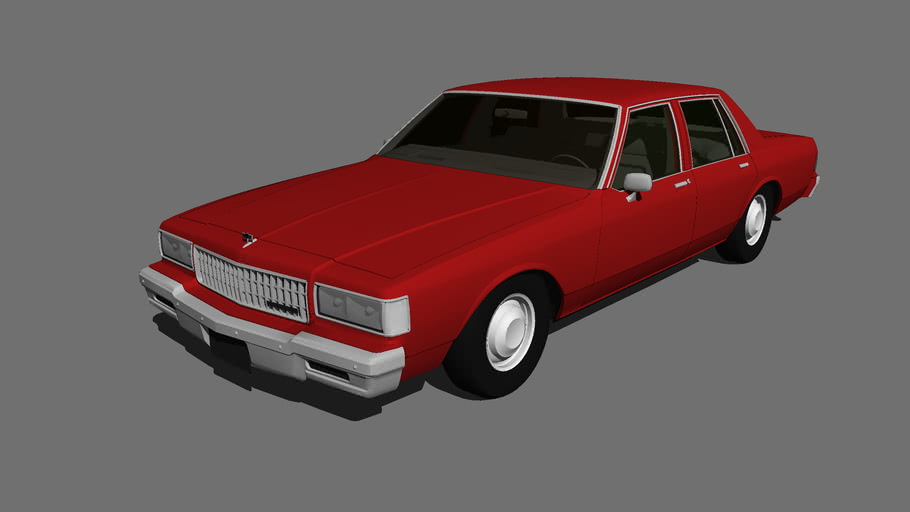 1987 Chevrolet Caprice 3d Warehouse