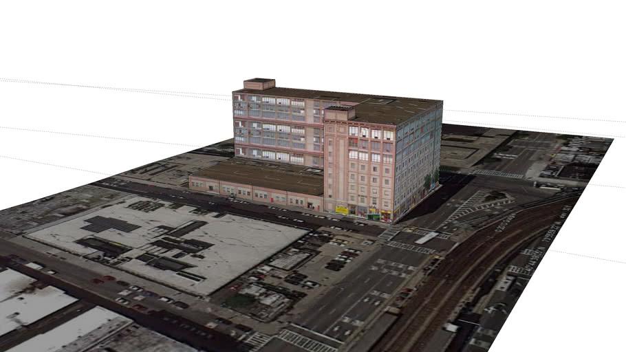 Old Factory Building on Van Dam Street