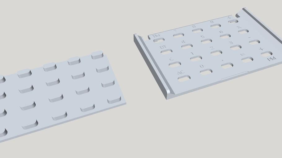 Casio MQ-1 Keypad