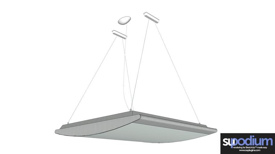Podium Browser Luceplan Strip CL light fixture