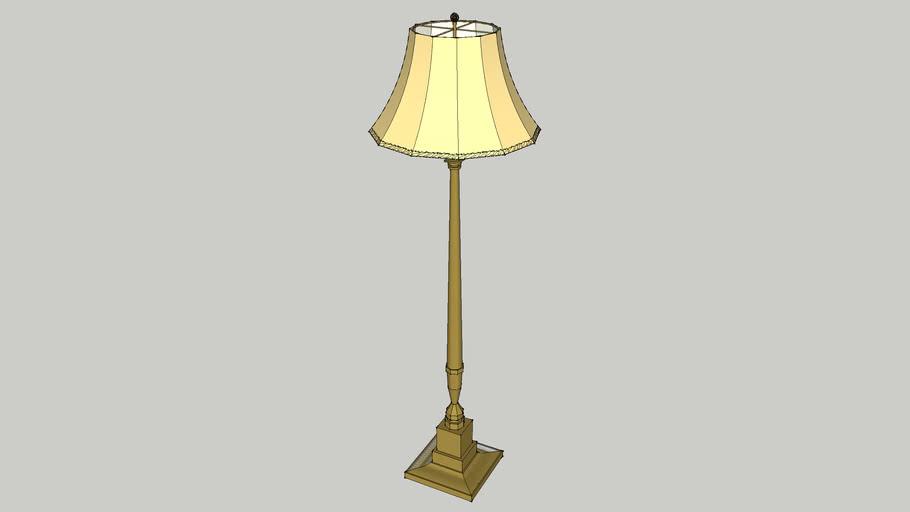 Floor lamp - traditional