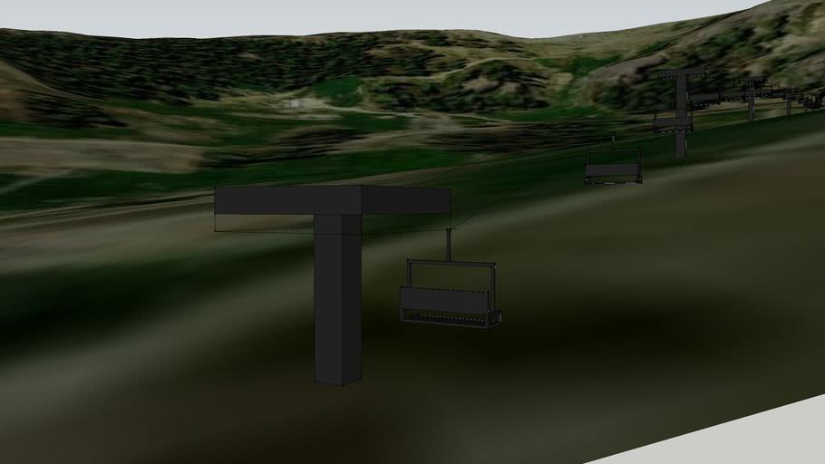 Kuma Uphill Chairlifts