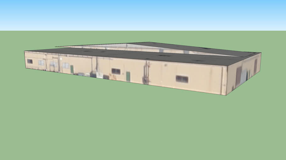 a warehouse /store, CA, USA