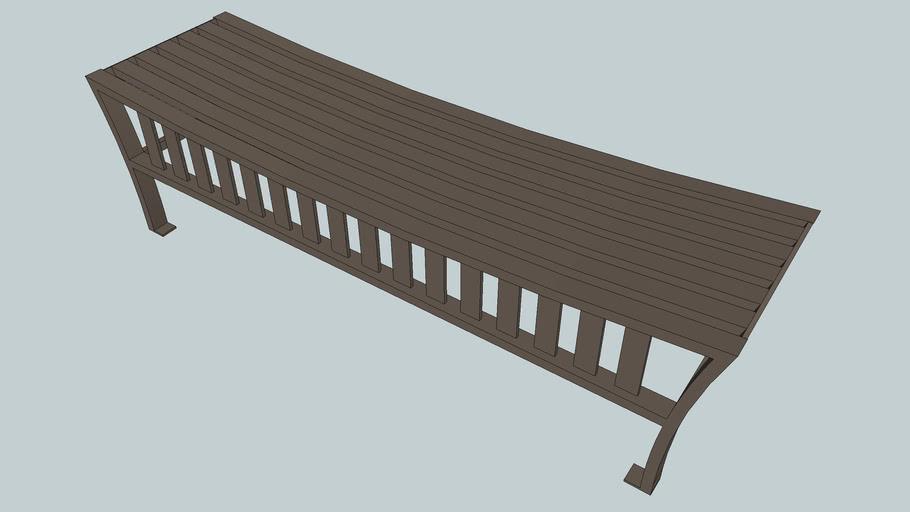 Exeter 6' Flat Bench