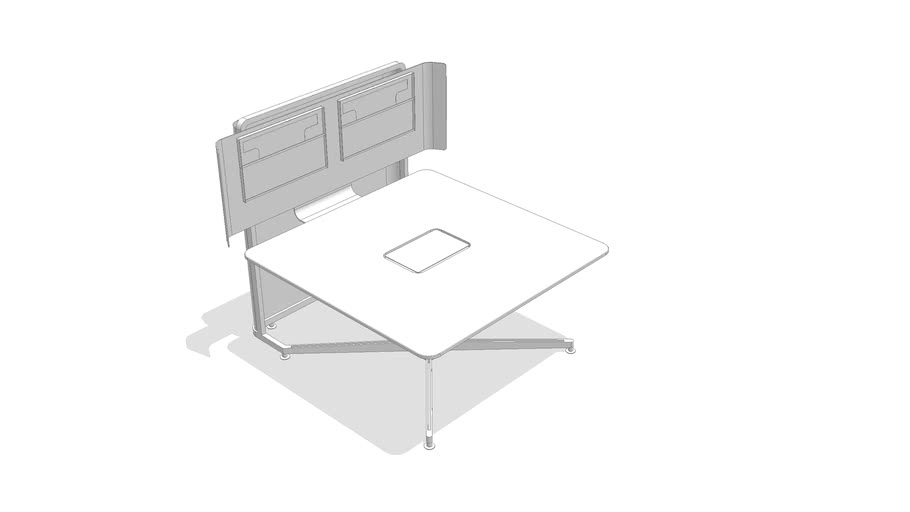 media:scape - Desk Height Table