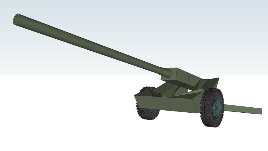 A-42-2 Mountain gun 105mm