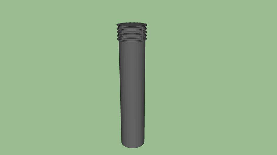 R-7173-L Decorative Plastic Post Cover