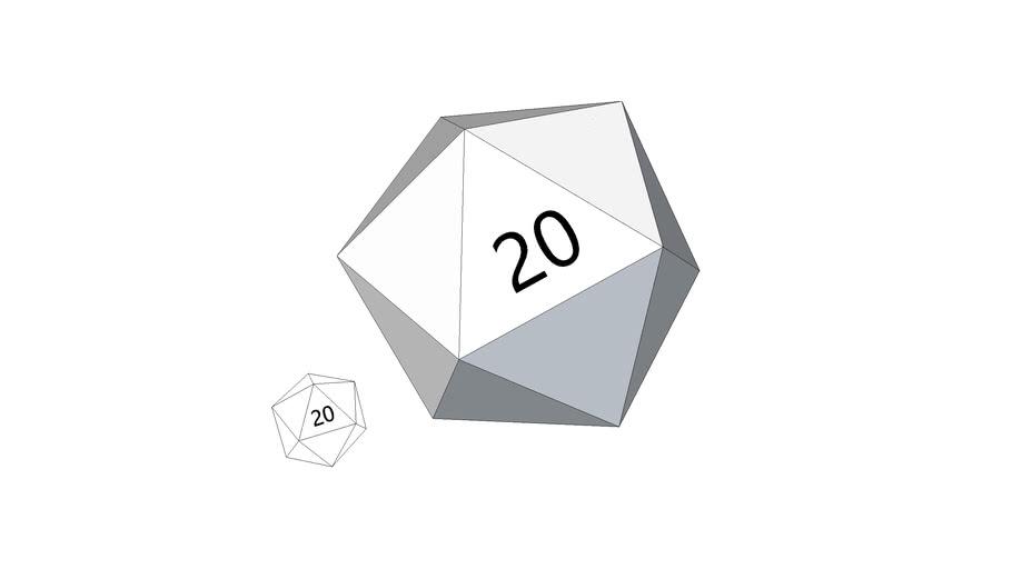 Blank 20-sided