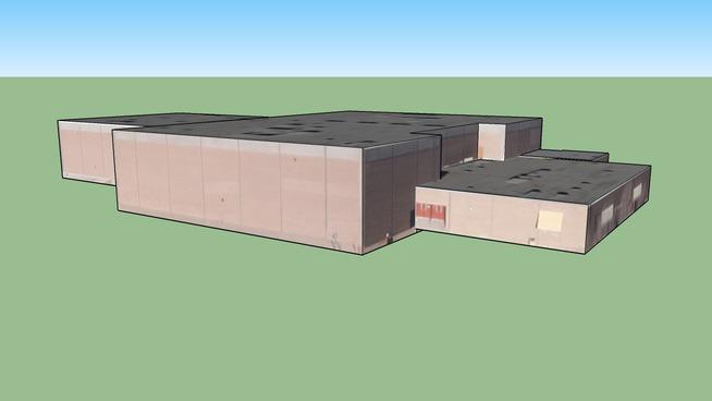 Gymnasium (Eldorado High School), Albuquerque, NM, USA