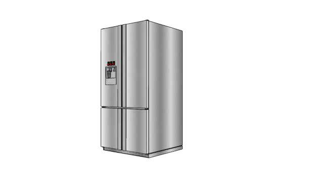 Fridge Freezer Stainless steel cooler