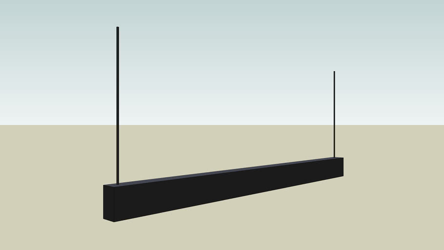 Black Casing Light