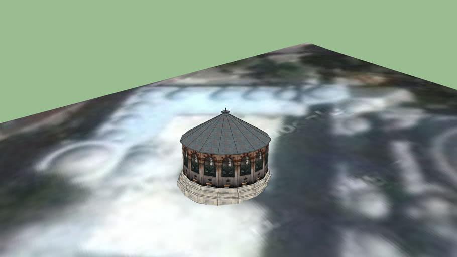 Sokollu Mehmet Paşa Camii Şadırvanı