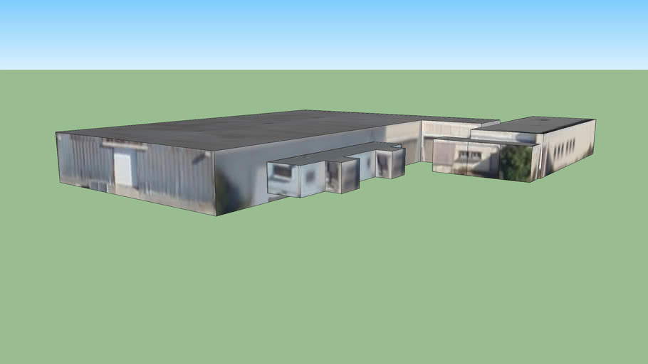 Building in San Quintin Prison