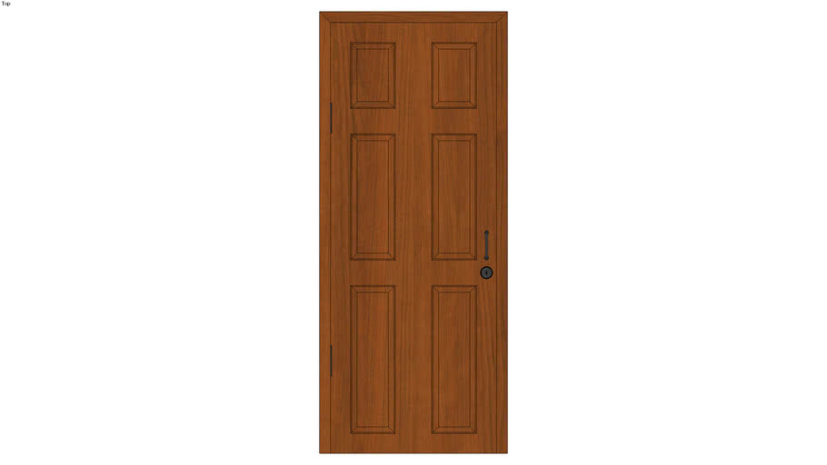 Panel Door Detailed Warehouse