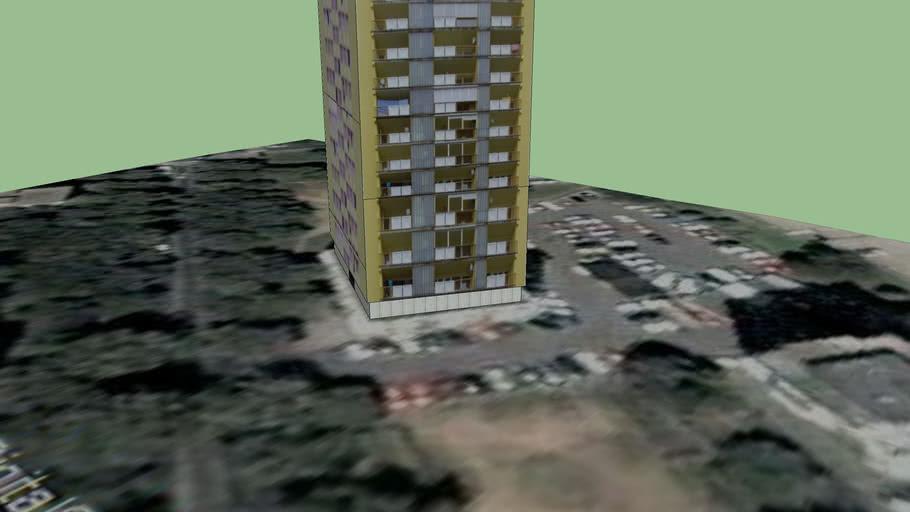 Булевар - Жути небодер