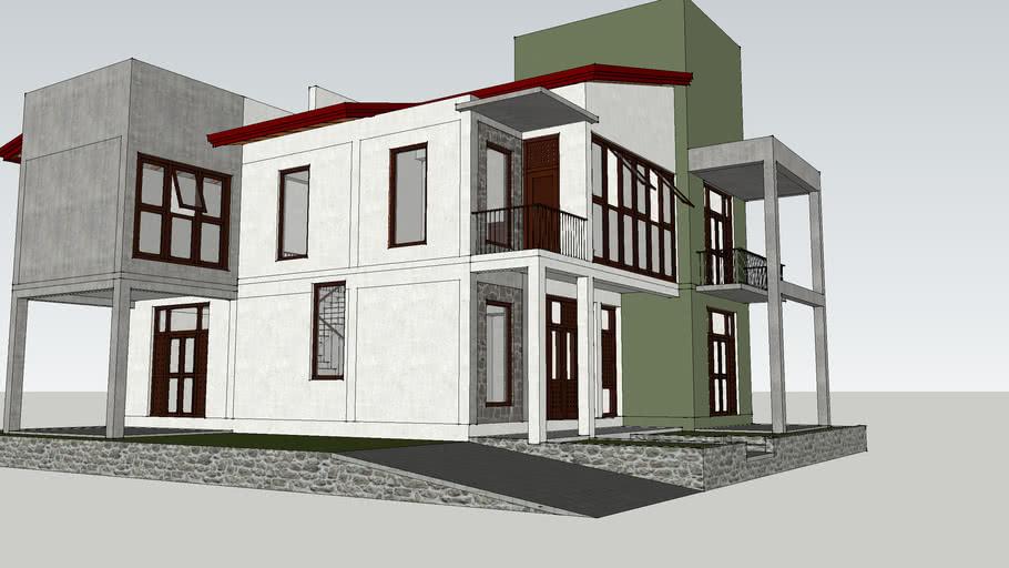 Modern House QH01