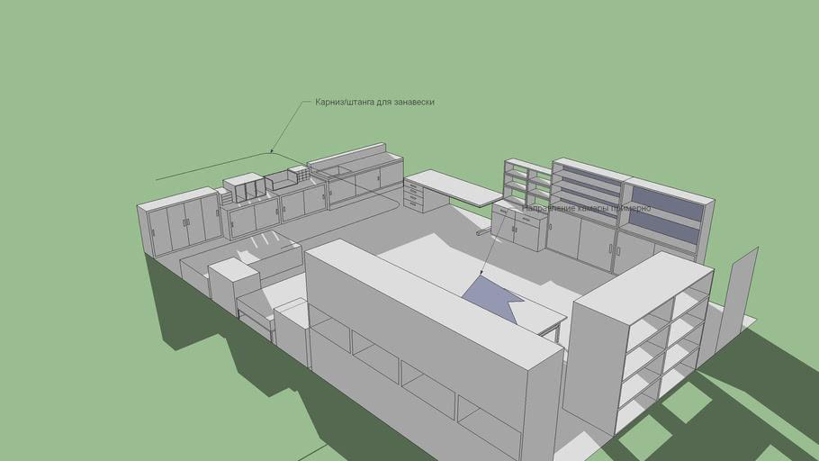 Medical room concept