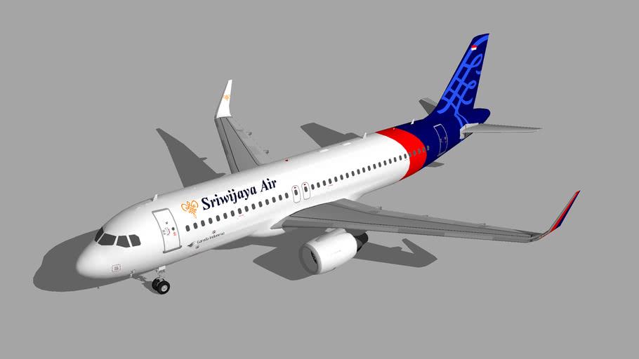 Sriwijaya Air Airbus A320-200 2