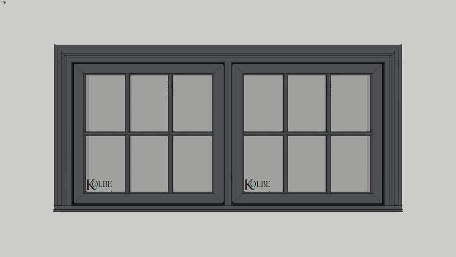 """Kolbe Ultra EP Csmt KUC226(F.S. 5'-4"""" x 2'-6"""" R.O. 5'-4 1/2"""" x 2'-6 1/2)"""
