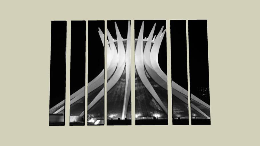 Quadro - A Catedral de Brasília