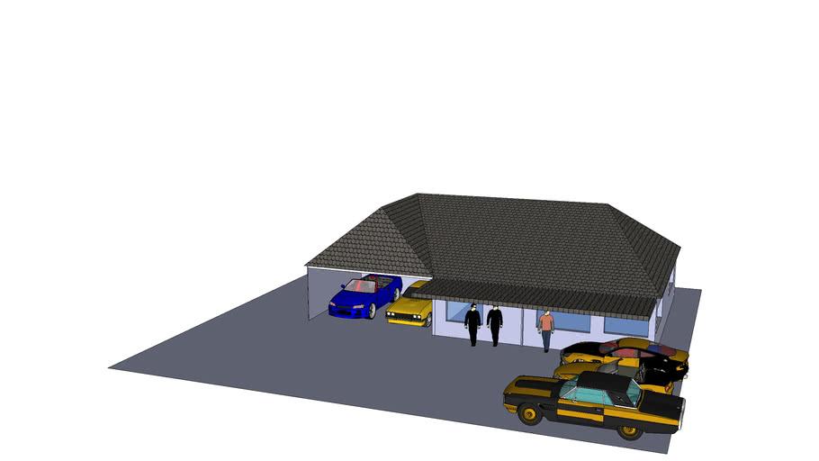 five car house