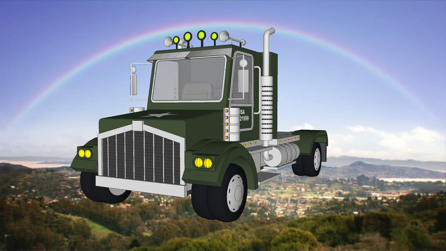 The Amazing World of Gumball military truck
