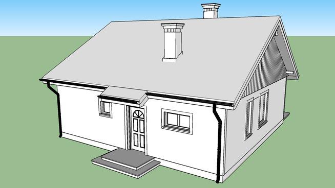 Model Projektu Domu Zosia 3d Warehouse