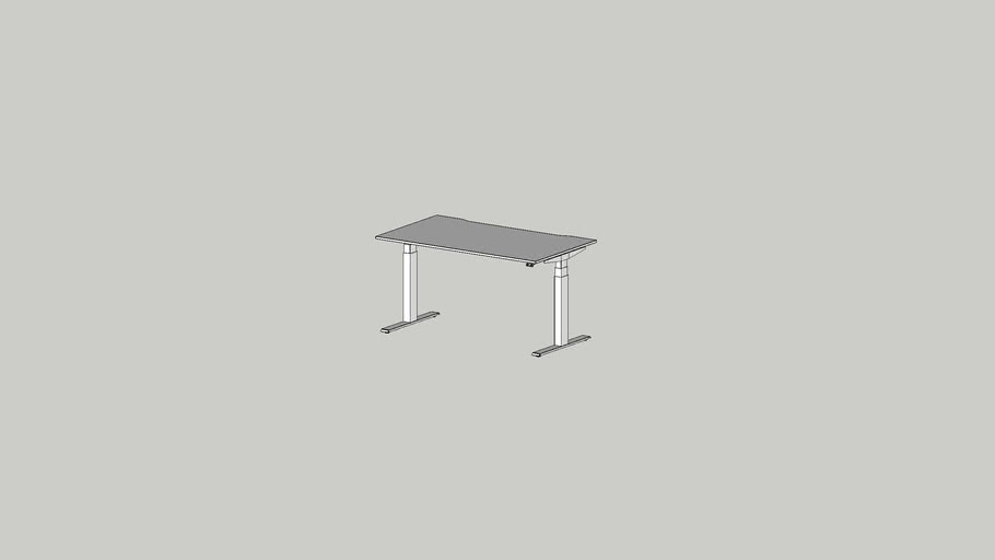 ALFA UP working table 1400x800 cutout