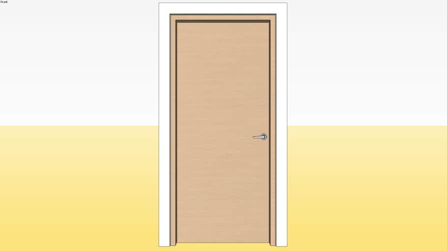 Flush Door D1 900 x 2100 Jamb 5