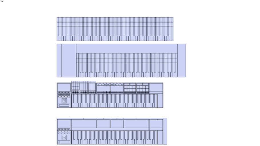 midi_controller_work_station_64 ideas blueprints - first steps