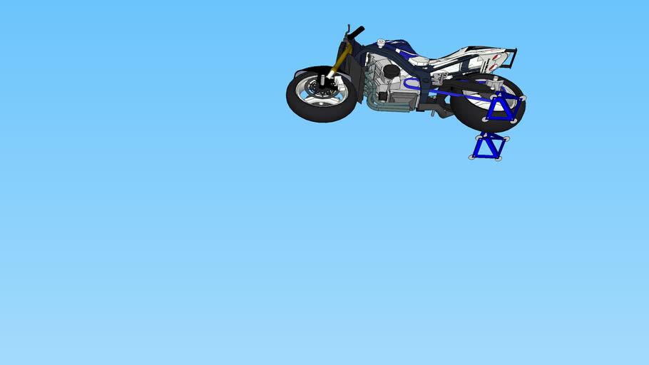SUZUKI GSX-R Stunt de 2003